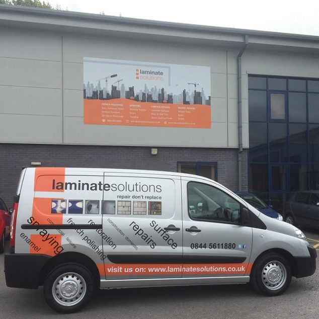 Laminate Solutions Van