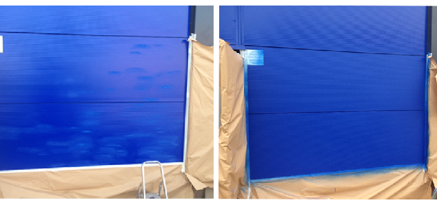 cladding repairs doors