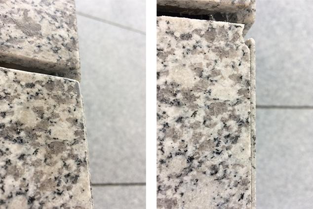 Stone cladding repairs